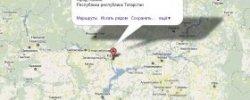 Казань на Карте Рф
